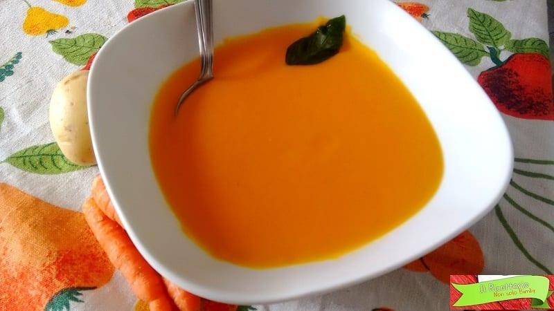 Vellutata di carote e patate Bimby: la dolcezza in versione light e vegana