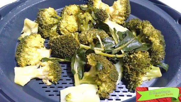 Broccoli saltati in padella con e senza Bimby 1