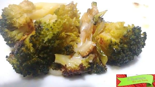 Broccoli saltati in padella con e senza Bimby