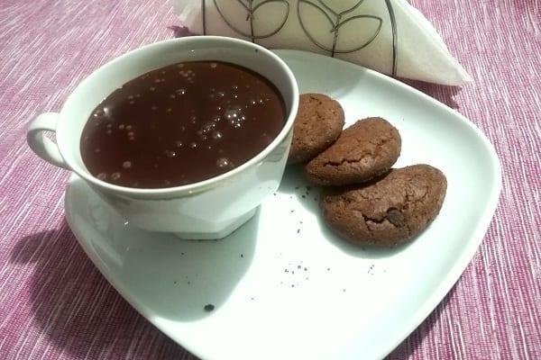 Cioccolata calda con Bimby, ricetta base