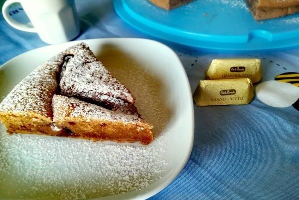Torta soffice mascarpone, caffè e nutella