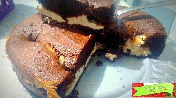 Torta Nua cacao e ricotta, senza glutine