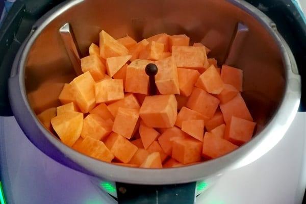 Gateaux di patate dolci 1