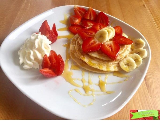 Pancakes light e senza glutine