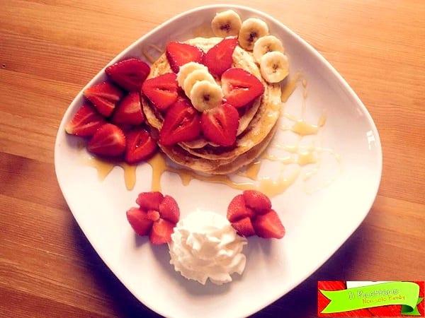 Pancakes light e senza glutine 2