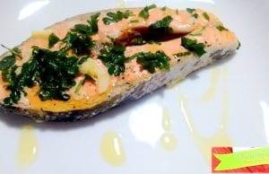 Salmone al Varoma con Bimby