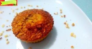 Muffin all'avena, miele e cannella