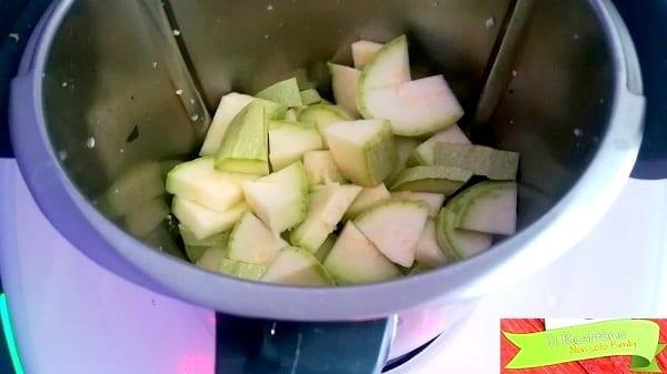 Zucchine trifolate con Bimby 1
