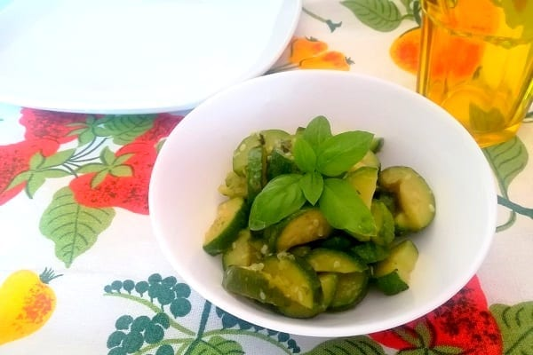 Zucchine trifolate con Bimby 4