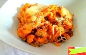 Anelletti al forno alla parmigiana