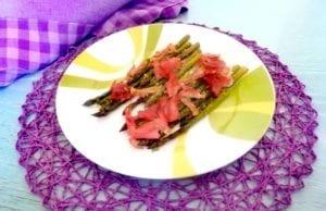 Asparagi e speck gratinati