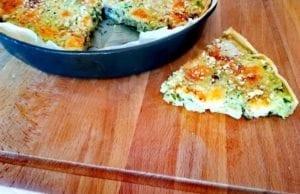 Torta salata di zucchine e mandorle