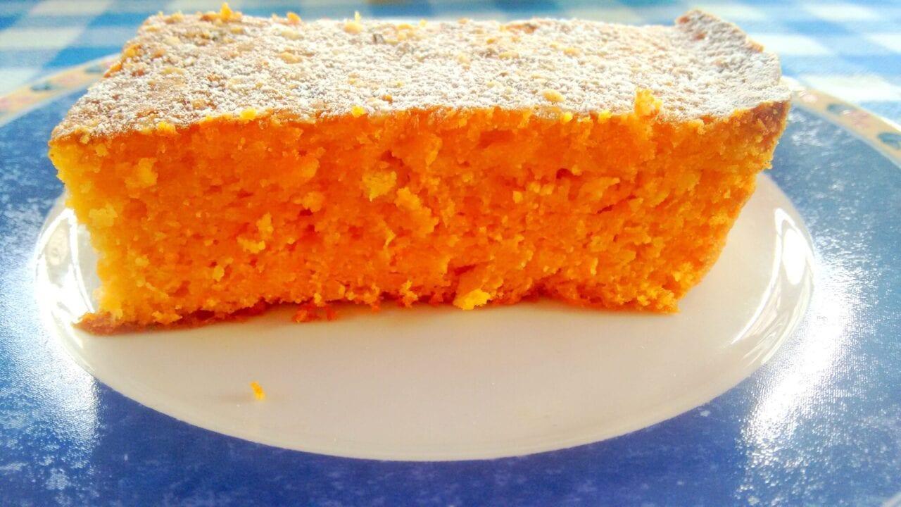 Torta di carote e mandorle con Bimby 4