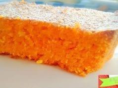 Torta di carote e mandorle con Bimby