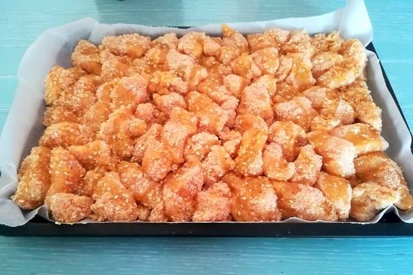 Bocconcini di pollo al sesamo al forno 1