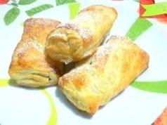 Fagottini di sfoglia con cioccolato o nutella