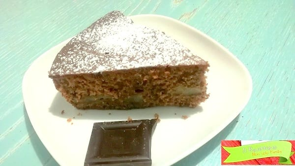 torta cioccolato e pere senza glutine 4