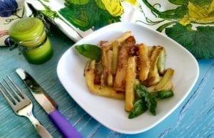 Zucchine parmigiano e salvia