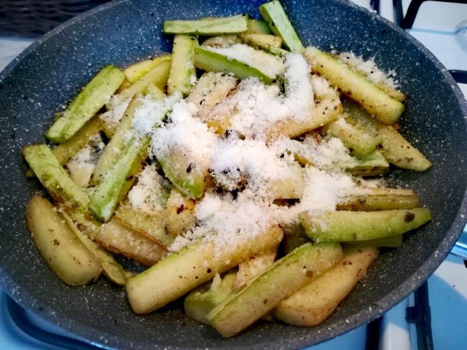 Zucchine parmigiano e salvia 3