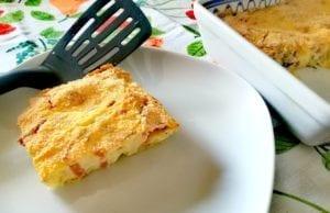 Torta di patate 'crocchetta' con Bimby