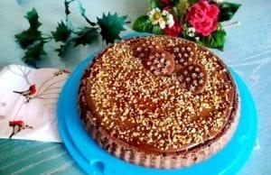 Crostata morbida Pan di Stelle con nutella