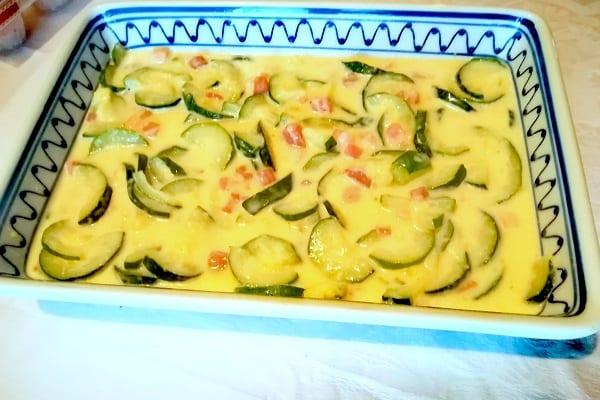 Sformato di zucchine Bimby 2