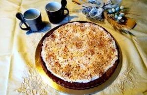 Crostata morbida cioccolato e ricotta