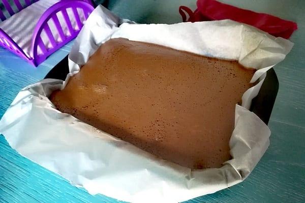 Torta magica ciocco caffè 3