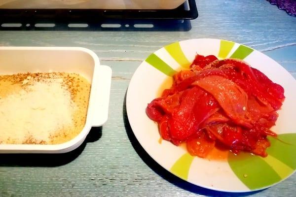 Cotolette di peperoni al forno 1