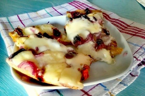 Pizza bianca con cipolla di Tropea