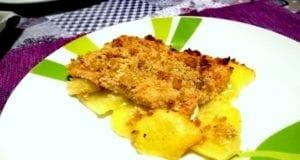 Filetto di salmone in crosta aromatizzata
