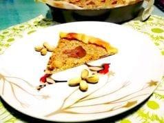 Torta salata con pistacchio e philadelphia