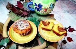 Muffin pistacchio e nutella senza glutine