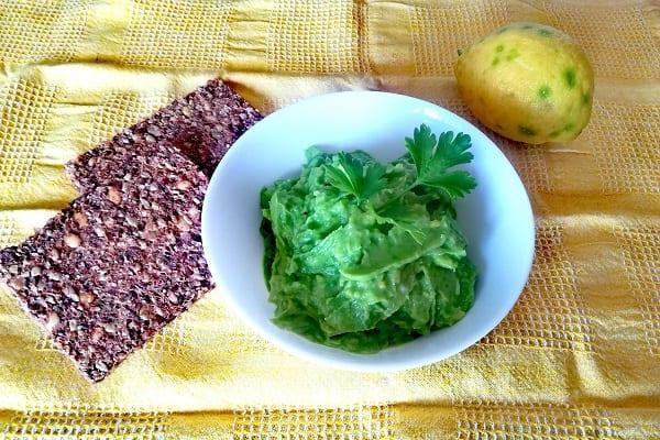 Salsa di avocado 1