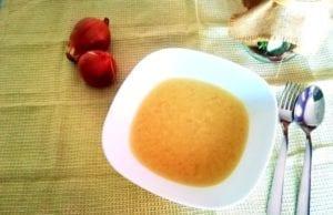 Zuppa di cipolla Bimby senza glutine