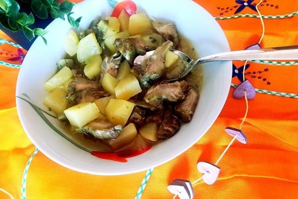 Carciofi e patate Bimby light 2