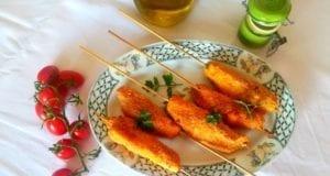 Spiedini di petto di pollo alla paprika