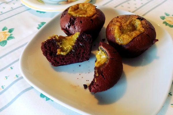 Muffin al cioccolato Bimby senza glutine 3