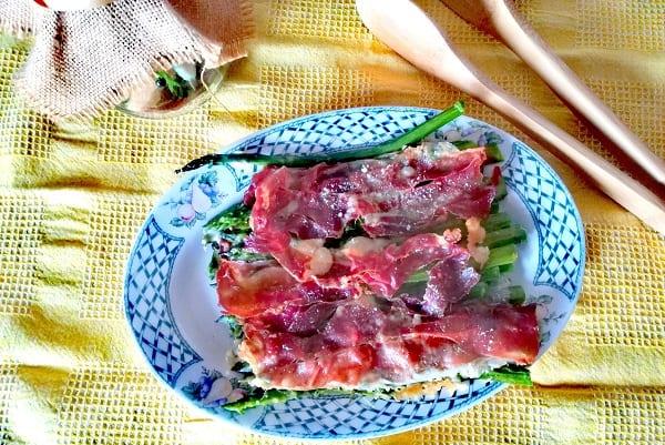 Asparagi alla parmigiana con speck 3
