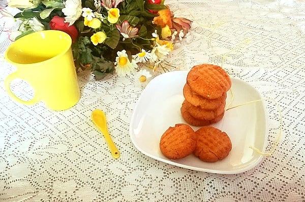 Biscotti al burro di arachidi americani, Peanut butter cookies