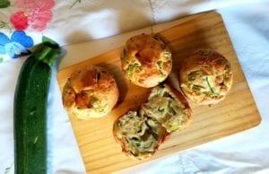 Muffin salati con salmone e zucchine Bimby