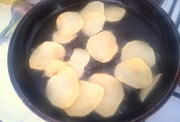 Come fare le patatine chips in casa 1