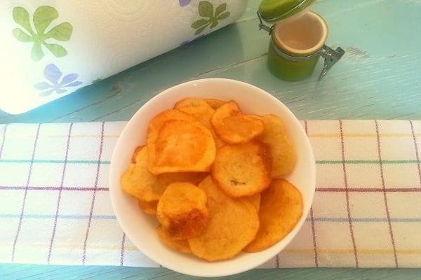 Come fare le patatine chips in casa 2