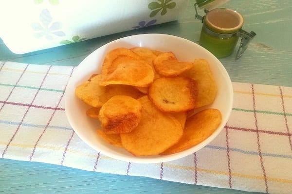 Come fare le patatine chips in casa