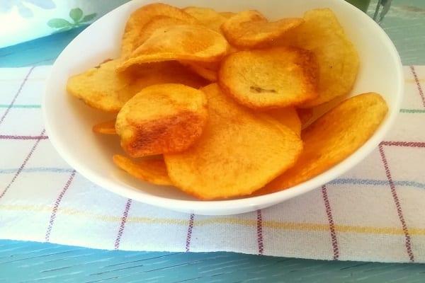 Come fare le patatine chips in casa 3