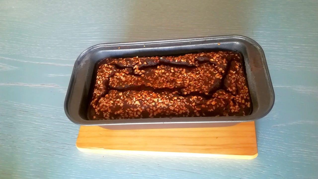 Banana bread al cacao senza glutine e lievito 3