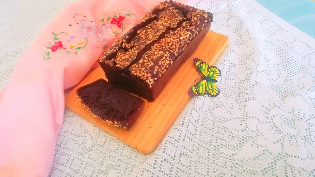 Banana bread al cacao senza glutine e lievito 4