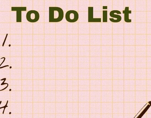 Come fare una to do list: pianificare ogni giorno in anticipo