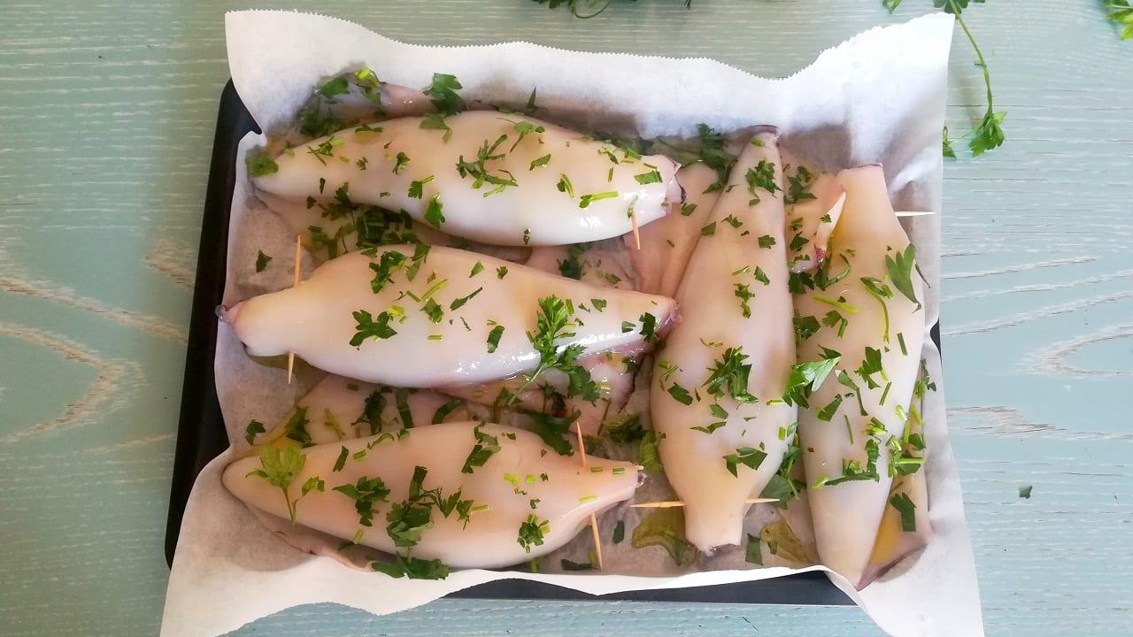 Calamari ripieni al forno 3