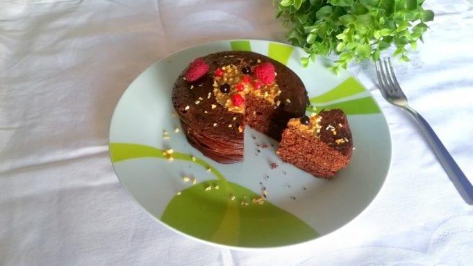 Pancakes proteici avena e cioccolato